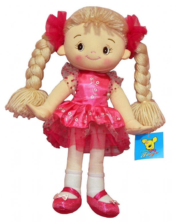 Emma Soft Bodied Rag Doll